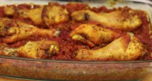 Вкусная курица с гречкой