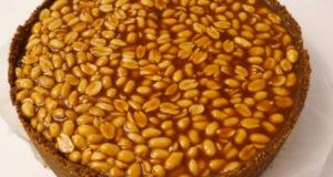 Чизкейк карамельный с арахисом