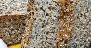 Быстрый хлеб из цельнозерновой муки с семечками