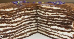 Многослойный торт Медово-шоколадный