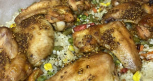 Быстрый ужин из куриных крылышек