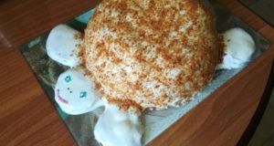 Торт Медовая черепашка