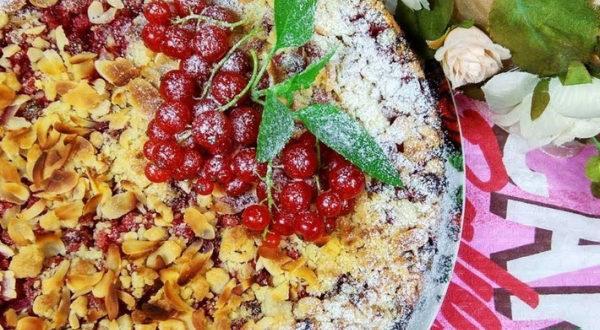 Летний пирог Рубиновый вечер