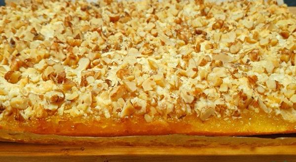 Пирог с яблочно лимонной начинкой