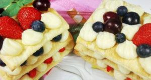 Шикарный десерт Мильфей