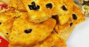 Фокачча-традиционная итальянская лепешка