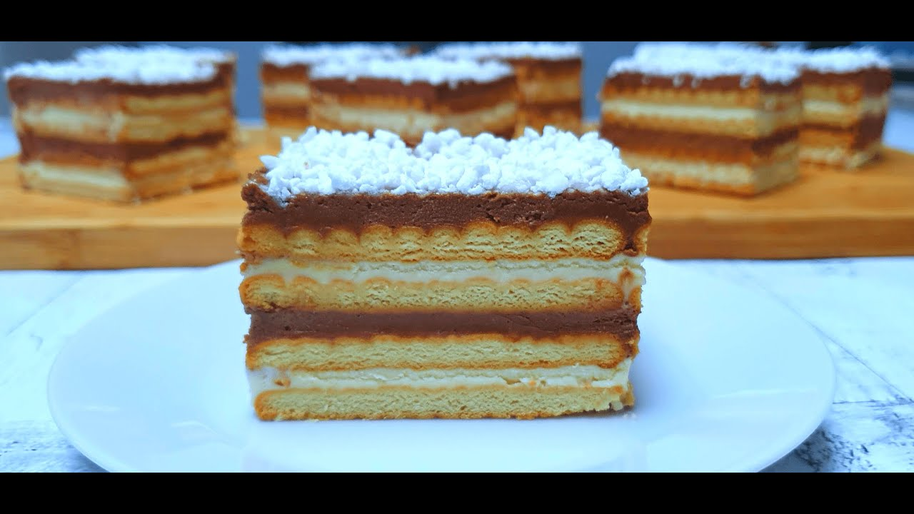 Торт Полька без выпечки