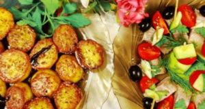 Пряный картофель Батата харра