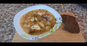 Картофельный суп с курицей