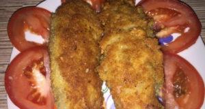 Колбаски из фарша и соленого огурца