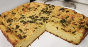 Пряный кабачковый пирог