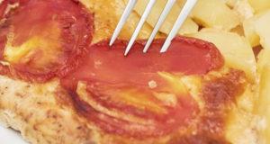Отбивные с сырно-картофельной начинкой
