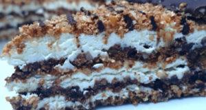 Торт Гаванский без выпечки