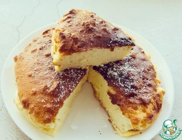 Йогуртовый пирог без муки, масла и сахара