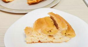 Пирог с бананами и карамелью