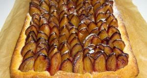 Аугсбургский сливовый пирог Пфлауменкухен